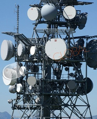 Microwave Communication Tower
